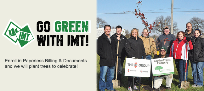 Go Green with IMT!