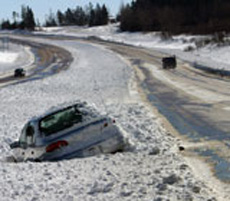 Be Aware of Winter Driving Hazards