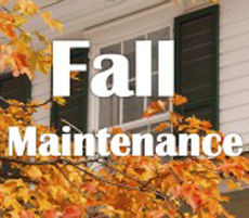 Fall Maintenance for your Home
