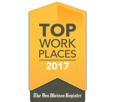 The IMT Group Named #6 Top Workplace in Iowa!