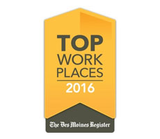 The IMT Group is named the #1Top Mid-Sized Workplace in Iowa!